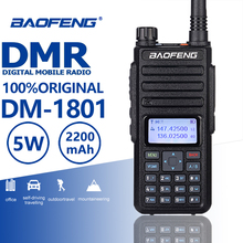 2019 New Baofeng DM-1801 DMR Walkie Talkie Tier I/II Digital Analog Dual Mode Band Two Way Radio Comunicador Hf Transceiver