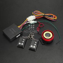 12V Motorcycle Security Alarm System For Yamaha Honda Suzuki Kawasaki 2 Remote Control Safety Security Alarm Machine