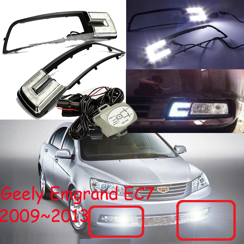 LED,2009~2013 Geely Emgrand EC7 day Light,EC7 fog light,1pcs/set,EC7 headlight;EC7 Taillight,EC8,EC715,EC718 geely emgrand 7 ec7 ec715 ec718 emgrand7 e7 car right left taillights rear lights brake light original