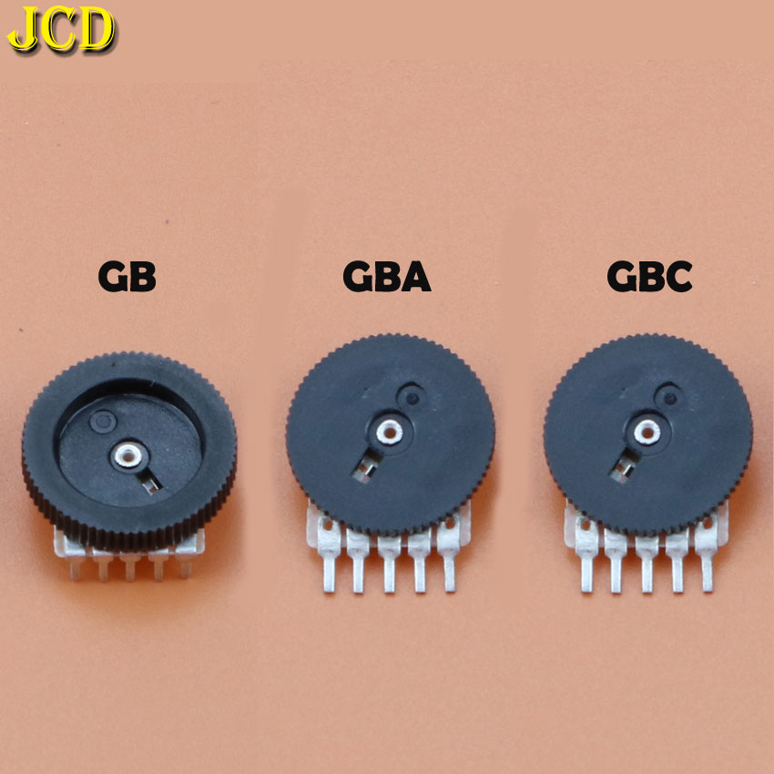 JCD 1PCS Replacement Volume Switch For Nintend GameBoy Advance Color For GB GBA GBC Motherboard Potentiometer