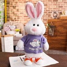 Говорящий Поющий прыгающий кролик говорящий плюшевые игрушки электронные мягкие животные для детей Девочки Мальчики детская диадема