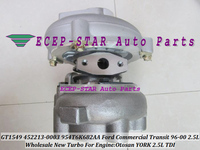 Free Ship GT1549 452213 452213 0003 452213 0001 Y4T6K682AA Turbo For Ford Commercial Transit van YORK Otosan 1997 00 2.5L TDI