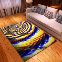 3D Colorful Soft Carpet Modern Geometry Style Carpets For Living Room Bedroom Area Rugs Home Floor Mats Study Room Decor Carpet