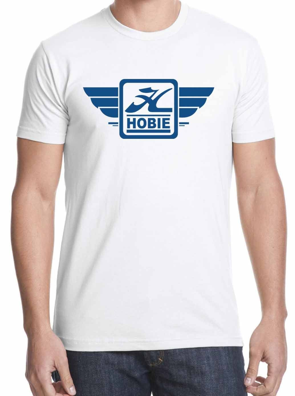 deck wheels Old Skool skateboardinged HOBIE 70s Skateboard logo t-shirt size S-XXL