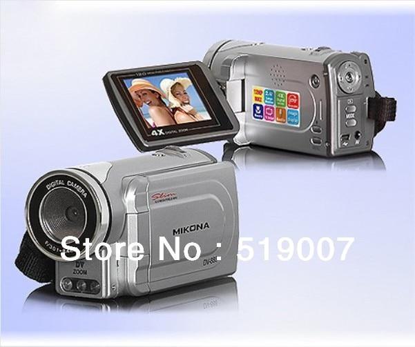 "5 pieces / lot Sale Winait 5MP CMOS Sensor 4x digital zoom 2.4"" LCD Digital Video Camera DV-888 DV888 Free Shipping"