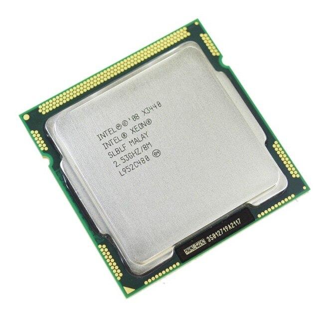Intel Xeon X3440 Quad Core 2.53 GHz LGA 1156 8 M caché 95 W CPU de escritorio I5 650 i5 750 i5 760