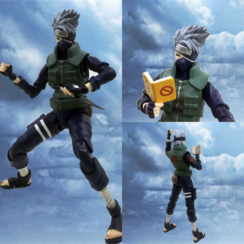 Good price Anime NARUTO Hatake Kakashi VAH <font><b>DX</b></font> Joints Moveable BJD Action Figure Model <font><b>Toys</b></font> figura image