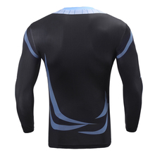 3D Print Long Sleeve Quick Dry Compression Shirt Sanji