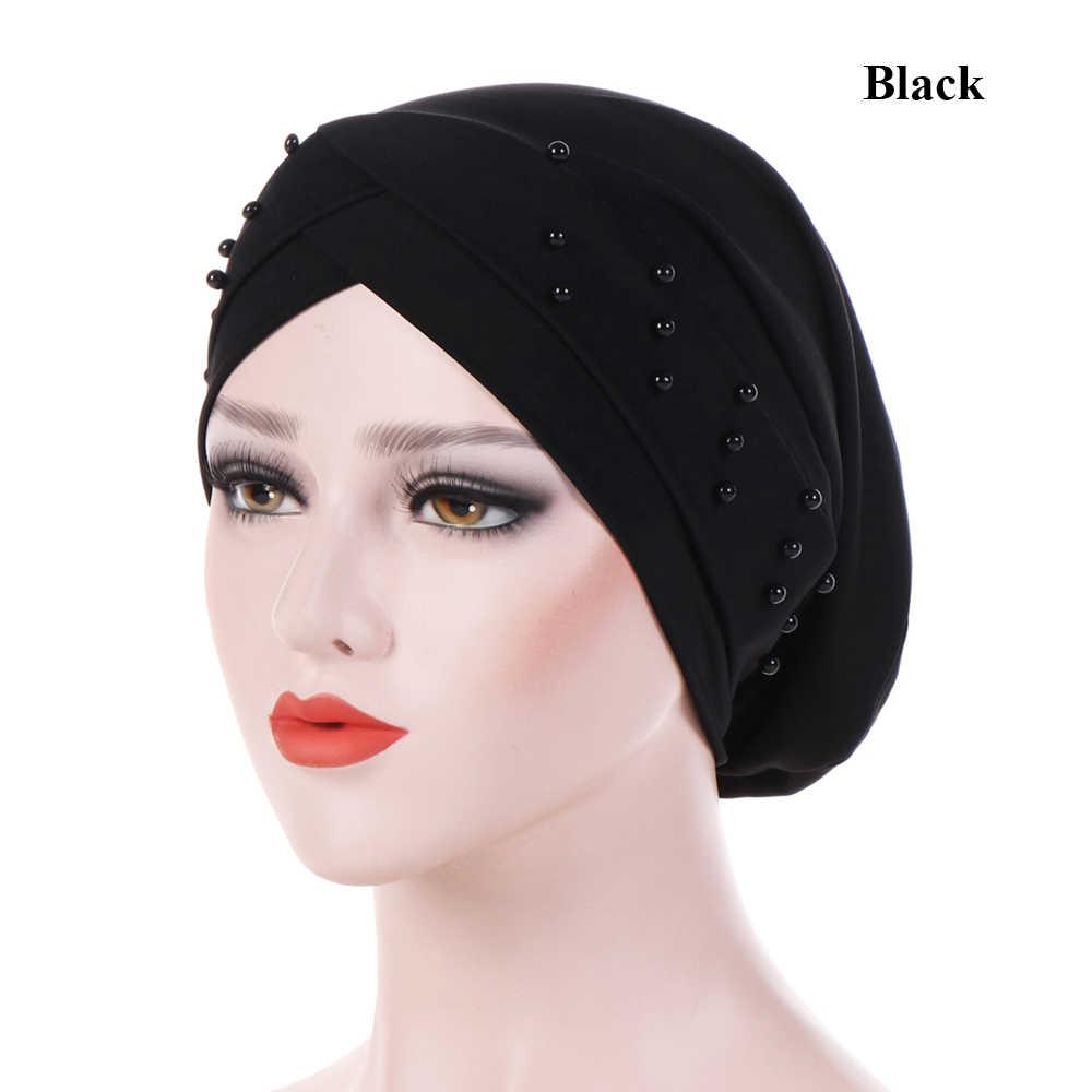 49f90b8720e New Muslim Women India Ruffle Cancer Chemo Hat Beanie Scarf Turban Head  Wrap Cap Casual Cotton