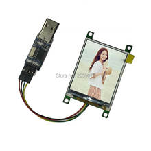 2.2 Inch UART LCD TFT Display Module with FLASH PL2303 Colorful Screen Serial Port for Arduino Raspberry Pi STM32 Computer PC