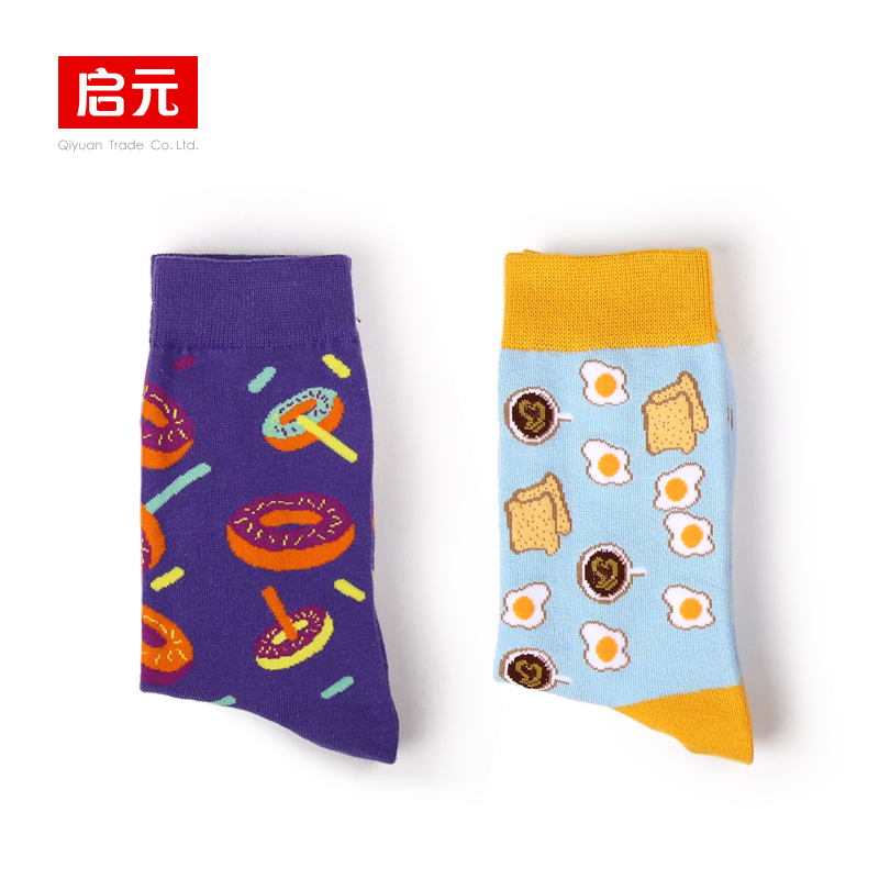 VVQI Autumnwinter socks woman Korean style long socks Harajuku Japan cute socks Avocado Ice cream funny socks gift box novelty in Socks from Underwear Sleepwears
