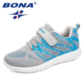 BONA New Arrival Popular Style Children Casual Shoes Mesh Sneakers Boys & Girls Flat Child Running Shoes Light Fast Free Shippin - DISCOUNT ITEM  40% OFF All Category