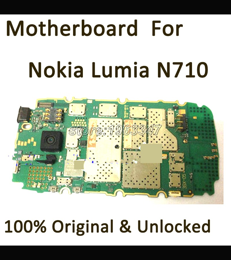 Well test before shipping unlocked Original Motherboard Nokia For Nokia Lumia 710 motherboard main board Logic
