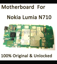 Well  test  before shipping unlocked Original  Motherboard  Nokia For  Nokia Lumia 710 motherboard main board  Logic Board