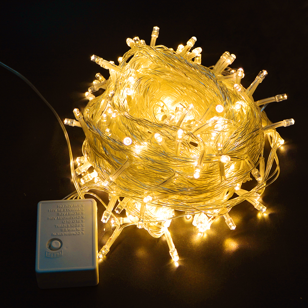 Led Christmas String Lights Manufacturer China : Aliexpress.com : Buy 10M Waterproof 110V 220V 100 LED Holiday String lighting For Decor Home ...