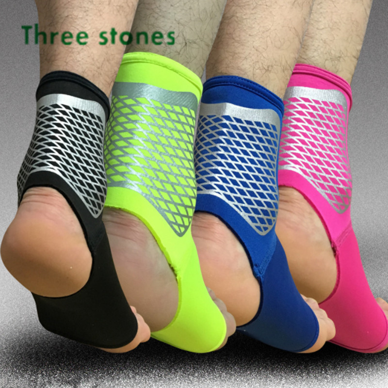 2Pcs/Lot Ultralight Breathable Adjustable Sports Elastic Neoprene Ankle Support Pad Safety Gym Basketball Ankle Brace Guard
