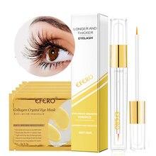 5pair Eye Patch Под Уходом за глазами Crystal Gold Mask Eye против морщин + 1 шт. Сыворотка для рост