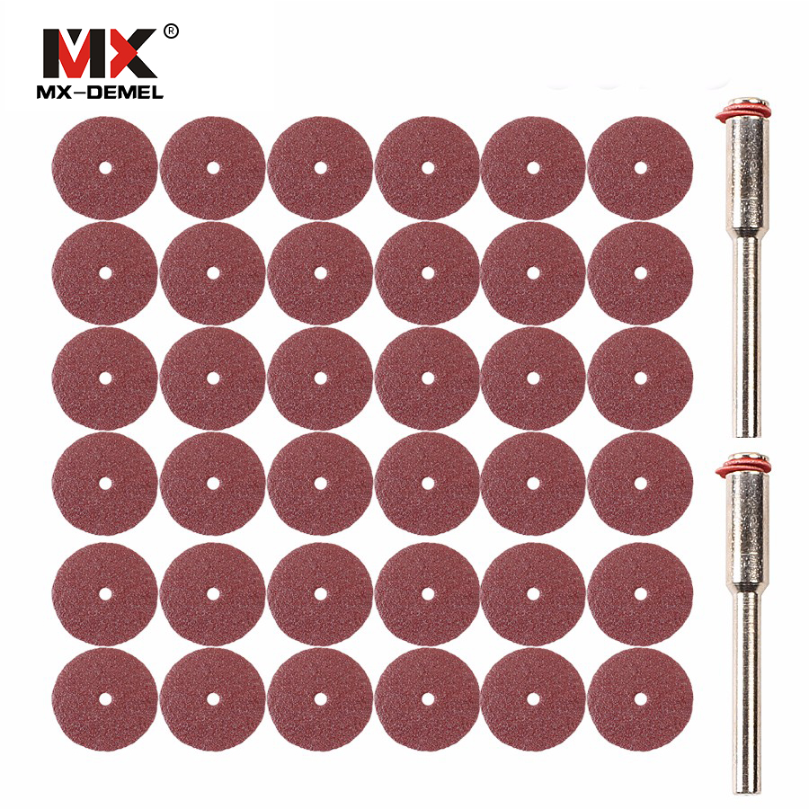 MX-DEMEL 30pcs Sanding Sheet Disc Sand Paper 20x0.3mm Dremel Style Acsessories Suit for Dremel Rotary Tools Power Tools mx demel high quality 17pcs 1 2 felt polishing wheels dremel accessories fits for dremel rotary tools dremel tools small