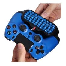 HAOBA 2.4G Wireless Mini คีย์บอร์ดคอนโทรลเลอร์ Gamepad Chatpad สำหรับ PS 4/PS 4 Slim/PS 4 Pro