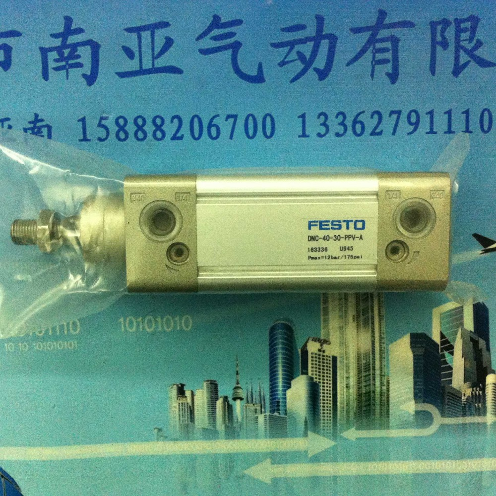 ФОТО DNC-40-30-PPV-A FESTO standard cylinder