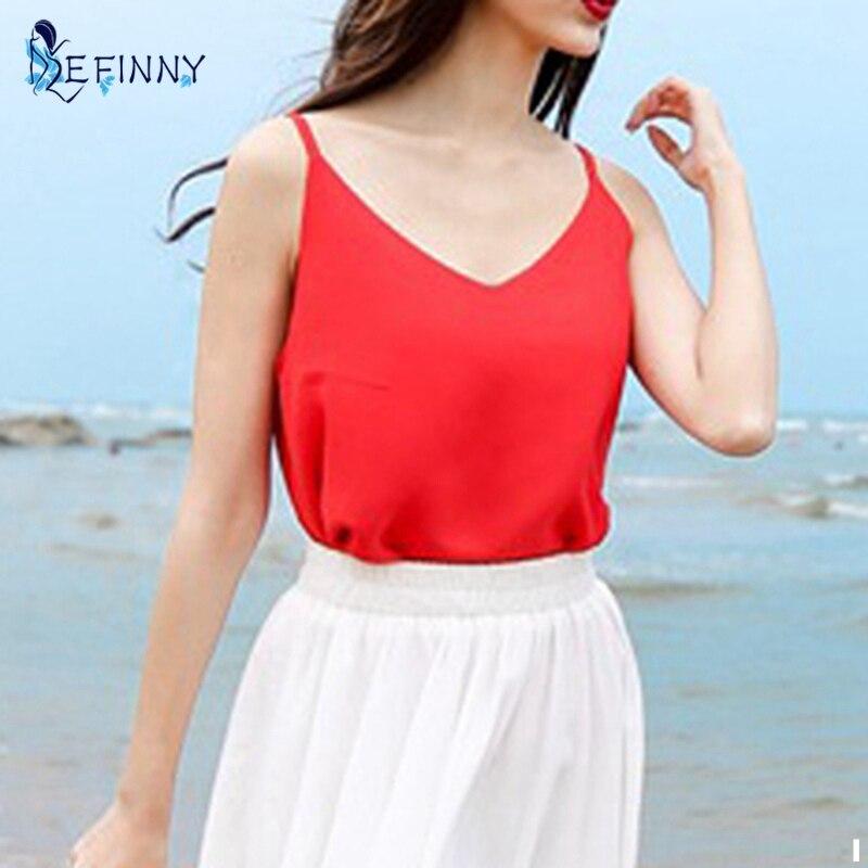 273.35руб. 25% СКИДКА|Женская футболка EFINNY, летняя, без рукавов, с треугольным вырезом|sleeveless t shirt|t shirt sexy|t shirt - AliExpress