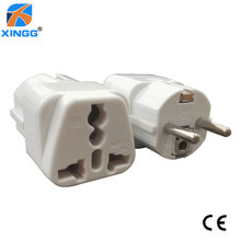 цена на All-In-One Universal International EU Plug Adapter 2 USB Port World Travel AC Power Charger Adaptor AU US UK EU Converter Plug