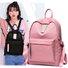 Fashion 2019 Backpack Women Preppy School Bags For Teenagers Female Nylon Travel Girls  Mochilas