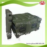China Hard plastic 4U mount case for mobile computer servicer