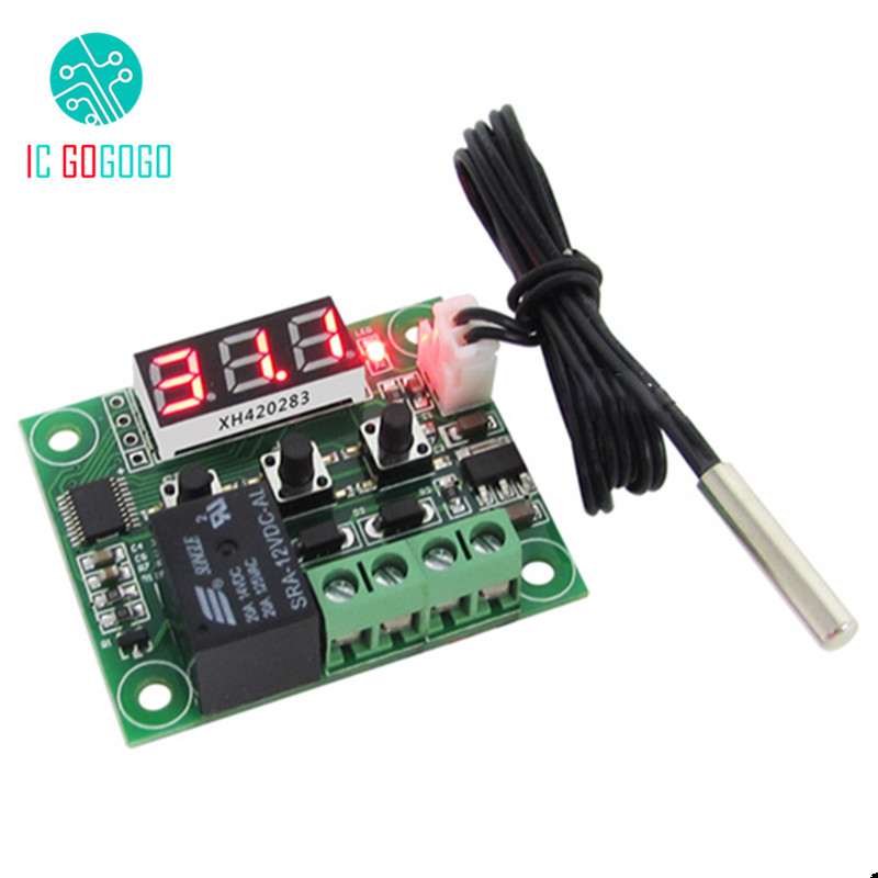Ersatzteile & Zubehör Hingebungsvoll Rot Blau 0,28 Zoll Xh-w1209 Digitale Led-anzeige Thermostat Temperatur Controller Schalter Modul Micro Board-50-110 Celsius