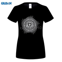 GILDAN Luther Rose Goth Black Cistian Large Size T Shirt Teen Short Sleeve Tshirts O Neck