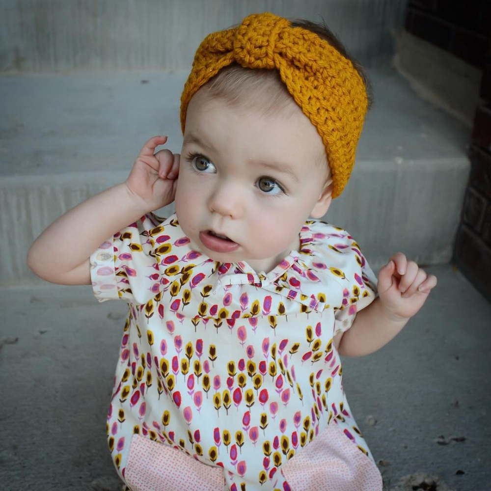 Funky Knitted Headbands For Babies Patterns Inspiration - Blanket ...
