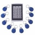125 tarjeta de Teclado de Control de Acceso Independiente De Metal KHZEM tarjeta RFID 125 KHZ teclado de acceso de la puerta sin llave