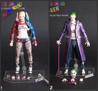 Pazzo Giocattoli 1:12 Suicide Squad Harley Quinn & Joker Bjd Action Figure Da Collezione Toy 7 Inch 18 Cm