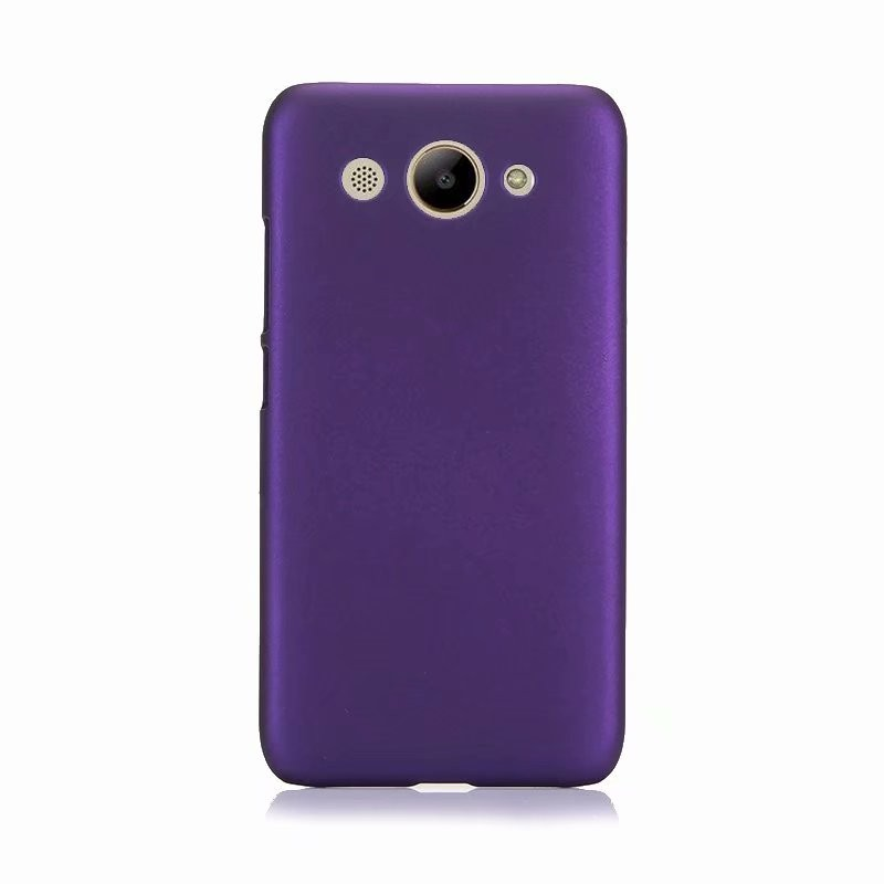 Phone Cases Ultra Slim Hard Rubberized Matte Cover Case for Huawei Y3 2018 Cellphone Case new in stock in Half wrapped Cases from Cellphones Telecommunications