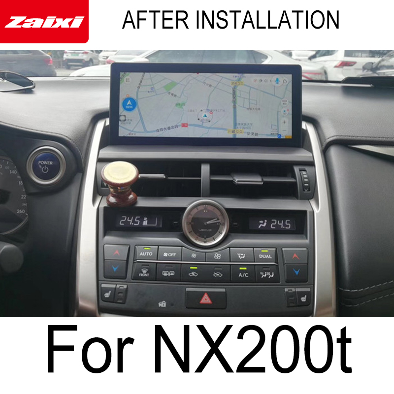 ZaiXi For Lexus NX 200t NX 300 2014 2017 Car Android Touch Screen Multimedia Player Stereo Display navigation GPS Audio Radio in Car Multimedia Player from Automobiles Motorcycles