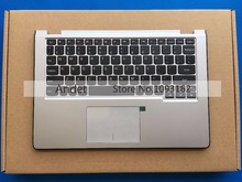 95 Nuevo Original para Lenovo Yoga 2 11 Cubierta Superior Caso + Teclado con Touchpad Palmrest Silver 90204958 AP0T5000200