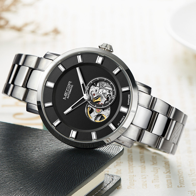 Luxury Automatic Mens Business Wrist watch