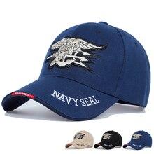 Высокое качество Мужская Бейсбольная Кепка ВМС США темно-синяя кепка морские котики тактическая армейская Кепка Дальнобойщик Gorras Snapback шапка для взрослых