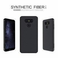 For LG G6 Case NILLKIN Synthetic Fiber Back Cover Case PP Back Shell For Lg G6