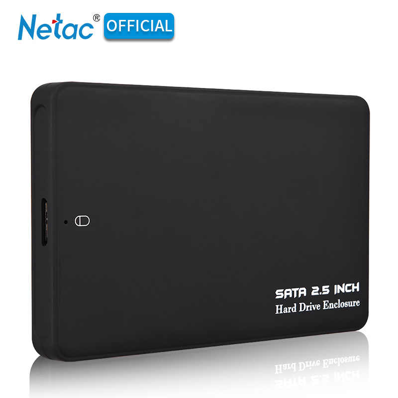 SATA To USB 3.0 HDD SSD Enclosure Black 2.5 Inch External Hard Drive Box Portable 1TB 2TB Hard Disk Case With USB Cable For PC