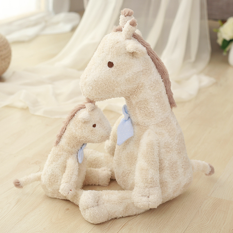 1pc Super soft giraffe baby Plush Doll The giraffe Kawaii toy For Children Gift For Girl freddy 22/35/55cm 1pcs 22cm fluffy plush toys white eyebrows cute dog doll sucker pendant super soft dogs plush toy boy girl children gift