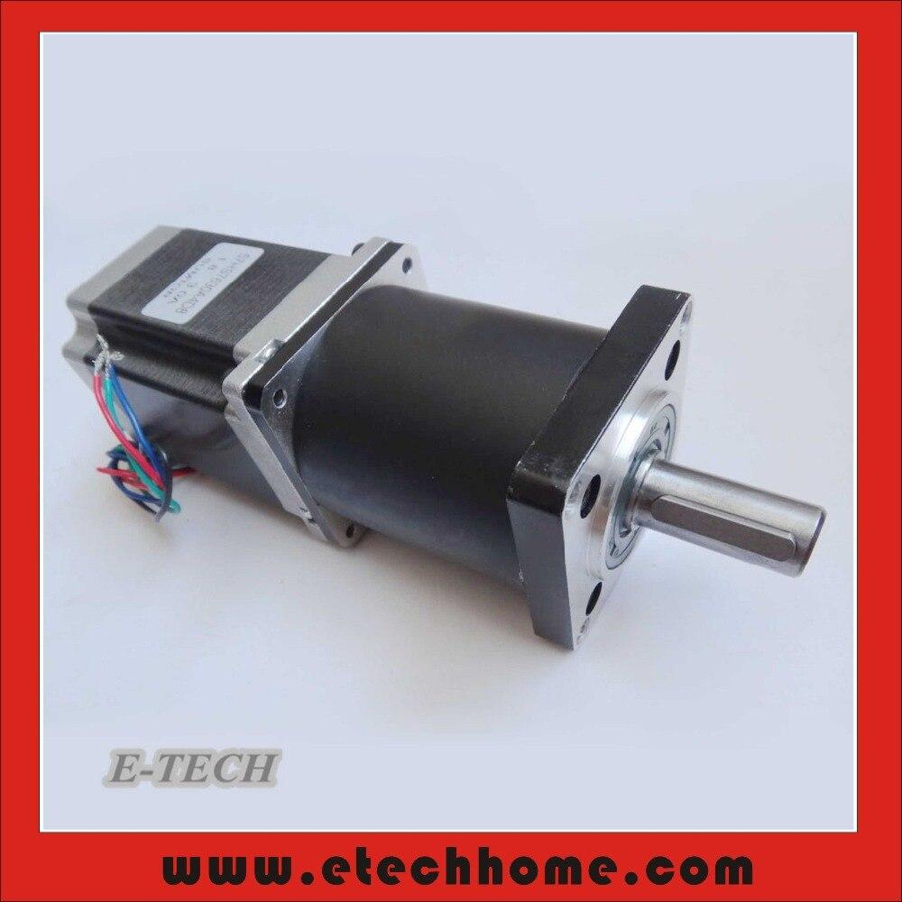 Nema 23 Planetary Gearbox Stepper Motor Gear Ratio 15 20 25 30 40 50 100 1