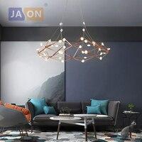 LED Postmodern Iron Acrylic Rose Sky Designer LED Lamp LED Light.Pendant Lights.Pendant Lamp.Pendant light For Dinning Room