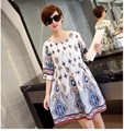 Fashion Maternity Dress Nursing Dress Breastfeeding Clothes Comfortable Clothes for Pregnant Women