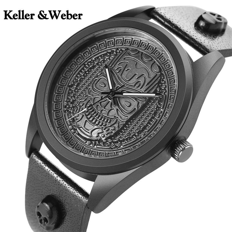 Keller&Weber Skull Head Stainless Steel