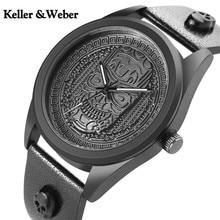 Keller&Weber Skull Head Stainless Steel