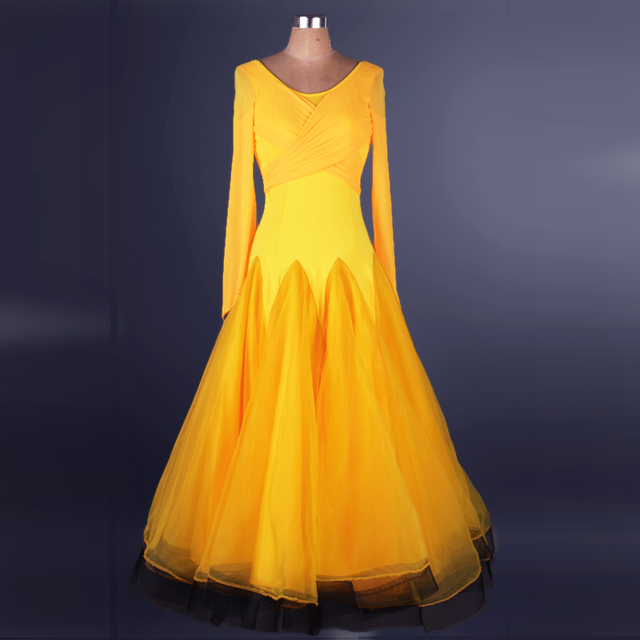 beb7bdd14 standard waltz flamenco tango long sleeves womens ballroom dance dresses  for sale long sleeve ballroom professional practice