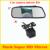 Nueva promoción 2 in1 Universal respaldo del revés del coche cámara de visión trasera parking backup camera + 5 pulgadas HD monitor del espejo