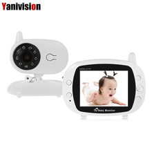 Wireless 3 5 inch Digital Video Baby Monitor Audio Music Infant Camera Temperature Sensor Intercom Nanny