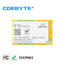 E19 915M30S لورا وحدة SX1276 915mhz 1 واط IPEX ختم هول هوائي IoT uhf جهاز الإرسال والاستقبال اللاسلكي جهاز ريسيفر استقبال وإرسال وحدة rf